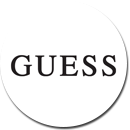 Guess marque lunettes logo